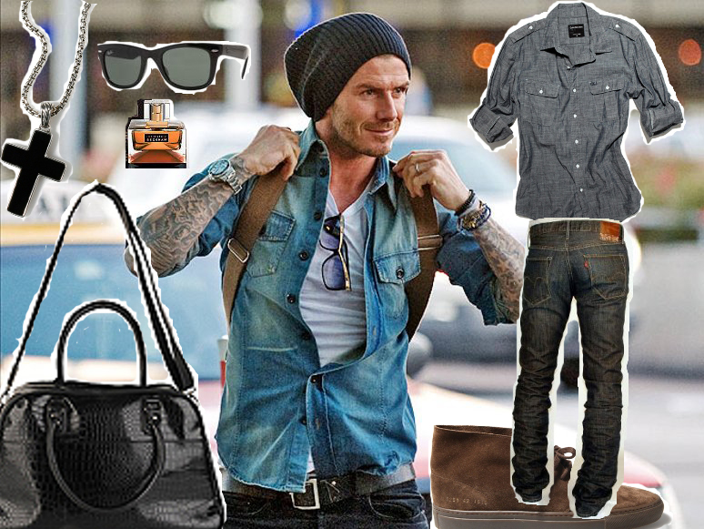 Daily Style God Save David Beckham