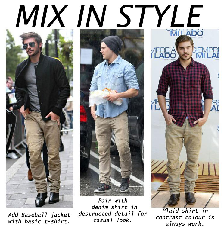 Mix In Style Zac Efron Titoley