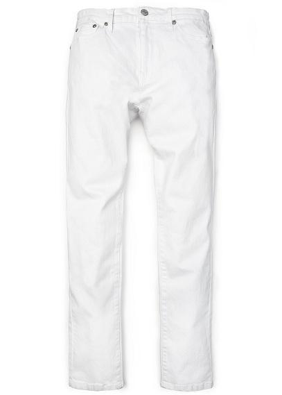 H.E Mango Alex Slim-fit  White Jeans