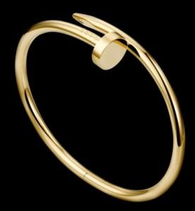 Cartier juste un clou bracelet_yellow gold