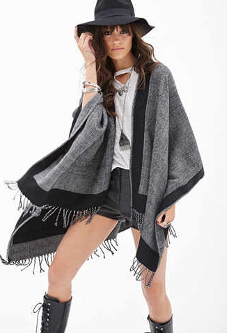 forever21 poncho