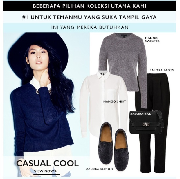Zalora_Casual Cool