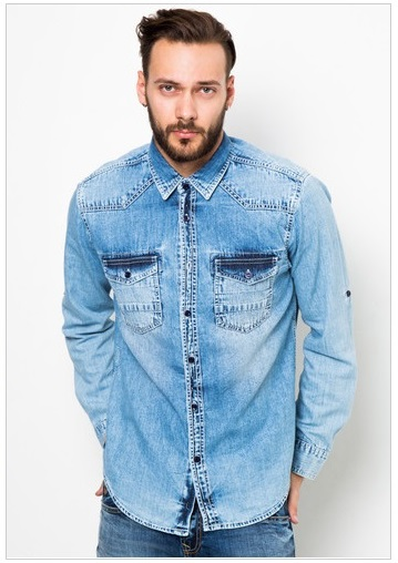 Lois Jeans Denim Fashion Shirt (IDR.349.500)