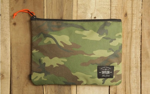 taylor fine goods canvas pouch