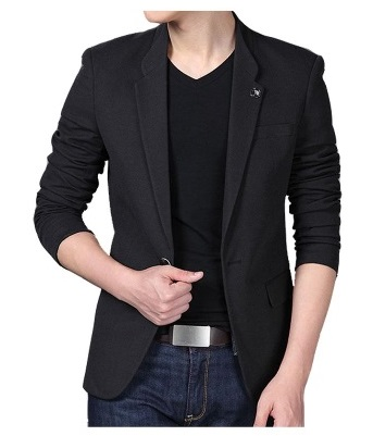 Quincy Label Blake Man Blazer_Black IDR.99.000